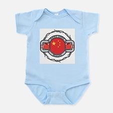 China Boxing Infant Bodysuit