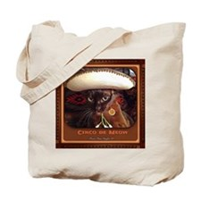 Cinco de Meow, w/frame Tote Bag