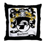 Buchner Coat of Arms Throw Pillow