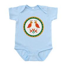 Double Distlefink Infant Bodysuit