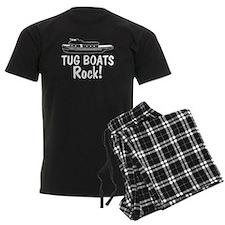 Tug Boats Rock Pajamas