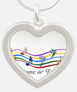 design Silver Heart Necklace