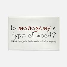'Monogamy' Rectangle Magnet