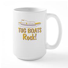 Tug Boats Rock Mug