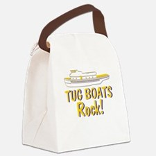 Tug Boats Rock Canvas Lunch Bag