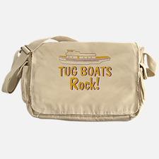 Tug Boats Rock Messenger Bag