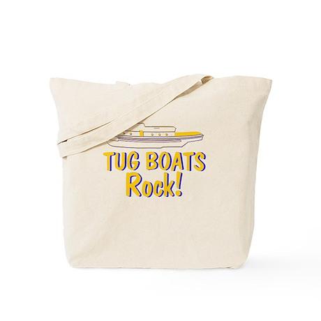 Tug Boats Rock Tote Bag