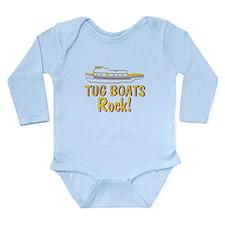 Tug Boats Rock Long Sleeve Infant Bodysuit
