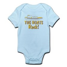 Tug Boats Rock Infant Bodysuit