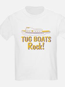 Tug Boats Rock T-Shirt