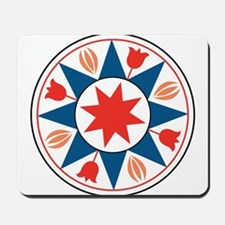 Eight Pointed Star Mousepad