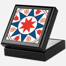 Eight Pointed Star Keepsake Box