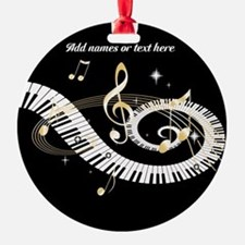 personalized music Ornament