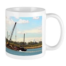 Mug With Towboat, Barge, Near Clearwater Fl
