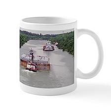 Mug With Towboat In Narrow Texas Canal
