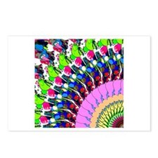 Abstract Digital Art Postcards (Package of 8)