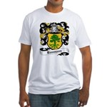 Baumann Coat of Arms Fitted T-Shirt