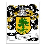Baumann Coat of Arms Small Poster