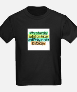 mondays and fridays confused days T