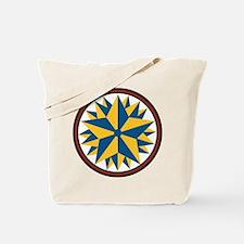 Triple Star Hex Tote Bag