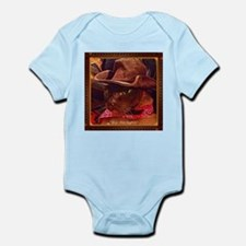 Cowboy Cat Infant Bodysuit