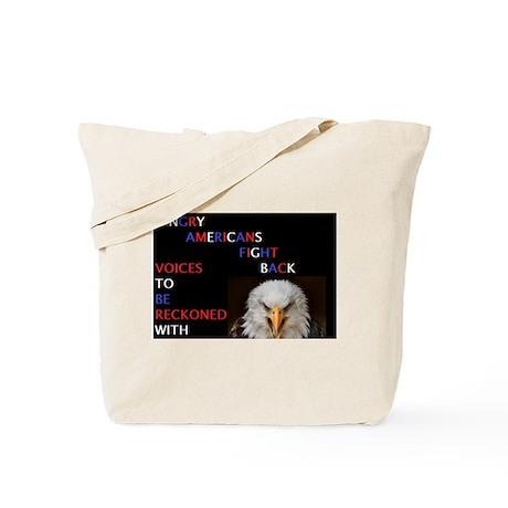 Voice of Reckoning Tote Bag