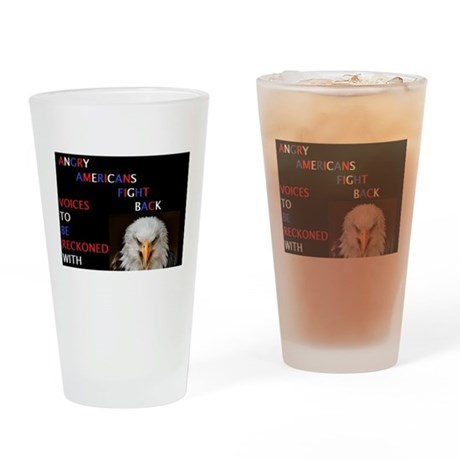 Voice of Reckoning Drinking Glass