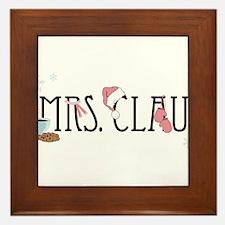 Mrs. Claus Framed Tile