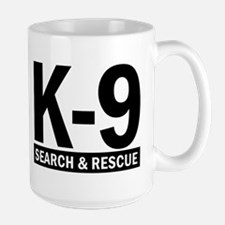 Search and Rescue K9 Team SAR Large Mug