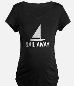 Sail Away Boat T-Shirt