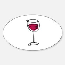 Glass Of Wine Decal