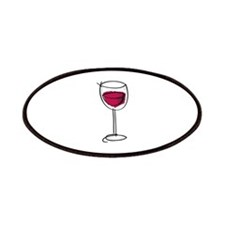 Glass Of Wine Patches