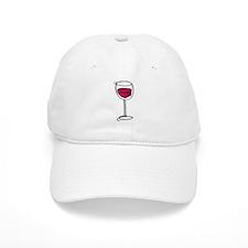 Glass Of Wine Baseball Baseball Cap