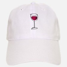 Glass Of Wine Baseball Baseball Cap