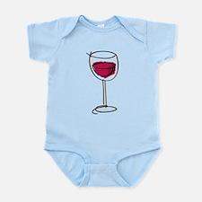 Glass Of Wine Infant Bodysuit