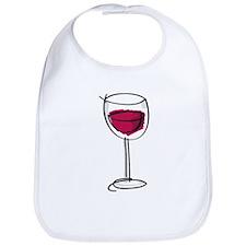 Glass Of Wine Bib