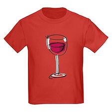 Glass Of Wine T