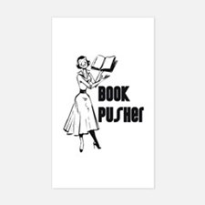 LIBRARIAN / LOCAL BOOK PUSHER Sticker (Rectangular