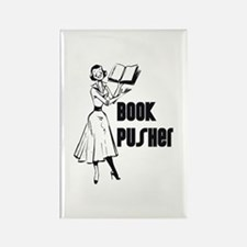 LIBRARIAN / LOCAL BOOK PUSHER Rectangle Magnet