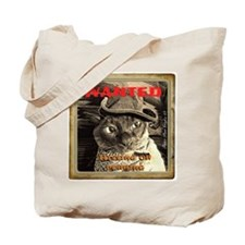Wanted, Hissing or Purring Tote Bag