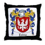 Zalva Coat of Arms Throw Pillow