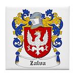 Zalva Coat of Arms Tile Coaster