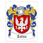 Zalva Coat of Arms Small Poster