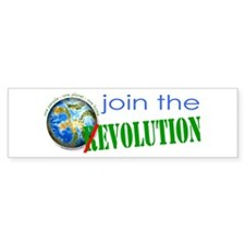 Join the evolution Bumper Sticker