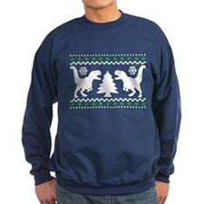 FUNNY! Ugly Holiday T-Rex Sweater Sweatshirt