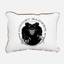Honey badger Rectangular Canvas Pillow