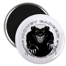 """Honey badger 2.25"""" Magnet (10 pack)"""