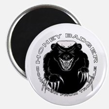"Honey badger 2.25"" Magnet (100 pack)"