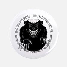"Honey badger 3.5"" Button"
