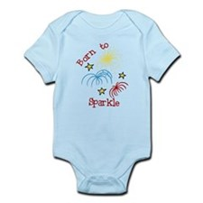 Born To Sparkle Infant Bodysuit